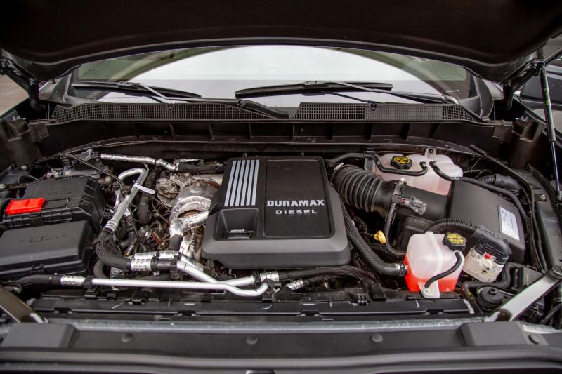 2020 Chevrolet Silverado 1500 Diesel Engine