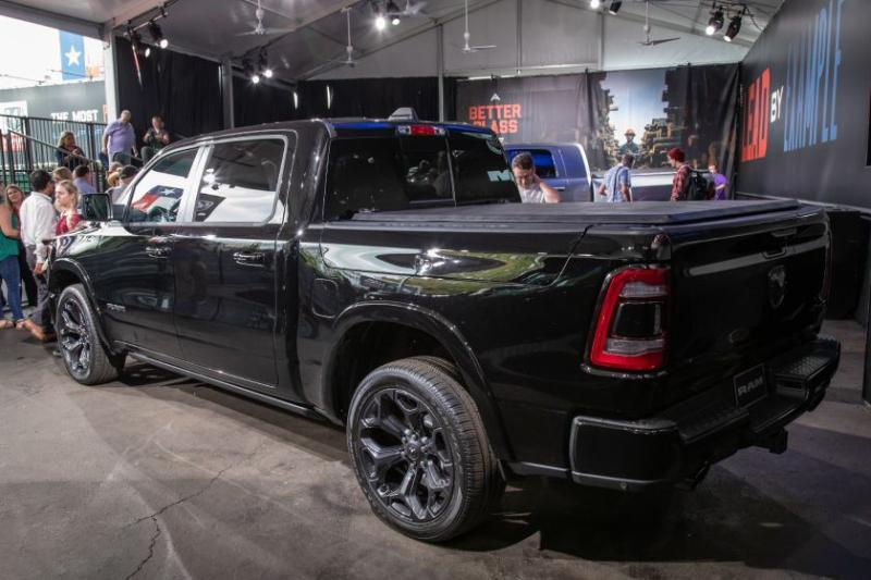 2020 Ram 1500 Limited Black Edition Rear Angle