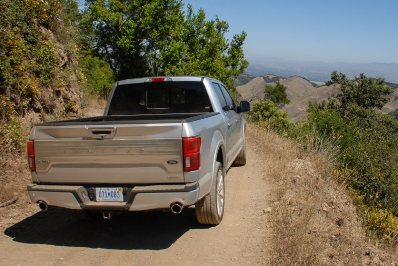 2019 Ford F-150 Limited Rear Profile