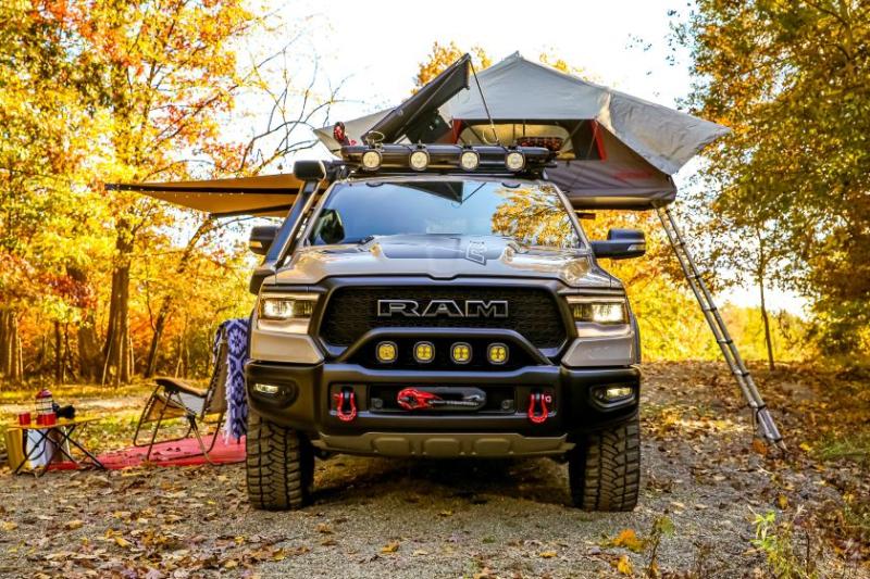 2020 Ram 1500 Rebel OTG Concept Camper Front View