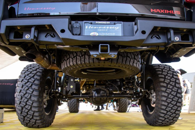Jeep Gladiator Hennessey Maximus 1000 Undercarriage Closeup