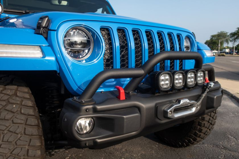 Jeep J6 Concept Grille And Red Tow Hooks
