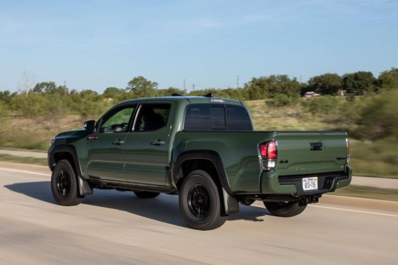 2020 Toyota Tacoma TRD Pro Rear Angle