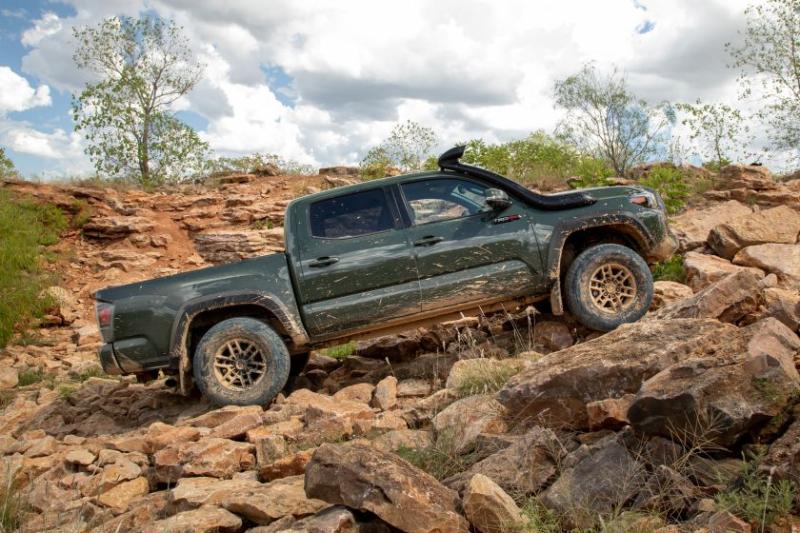 2020 Toyota Tacoma TRD Pro Rock Climbing Profile