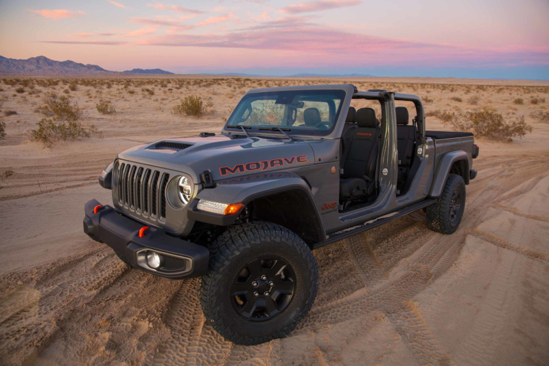 2020 Jeep Gladiator Mojave In Desert