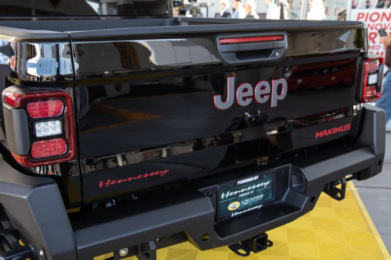 Jeep Gladiator Hennessey Maximus 1000 Tailgate