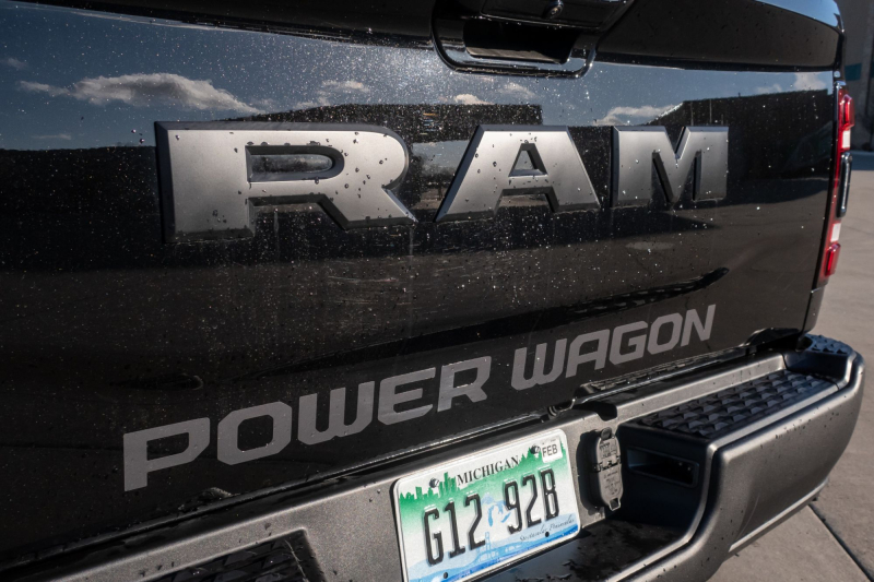 2020 Ram 2500 Power Wagon Tailgate Badges