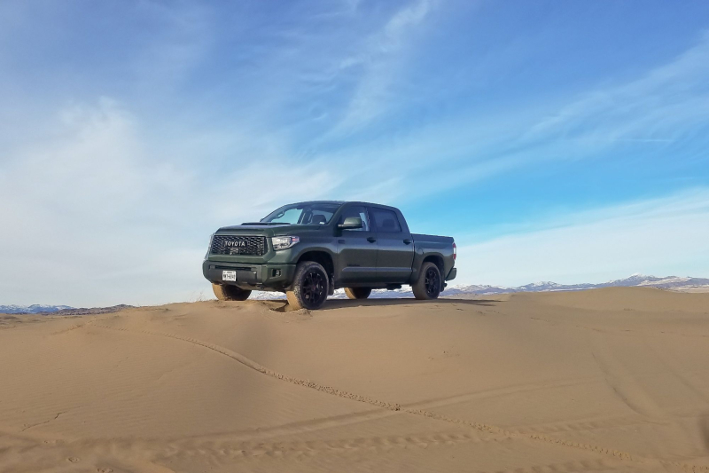 2020 Toyota Tundra TRD Pro In Sand