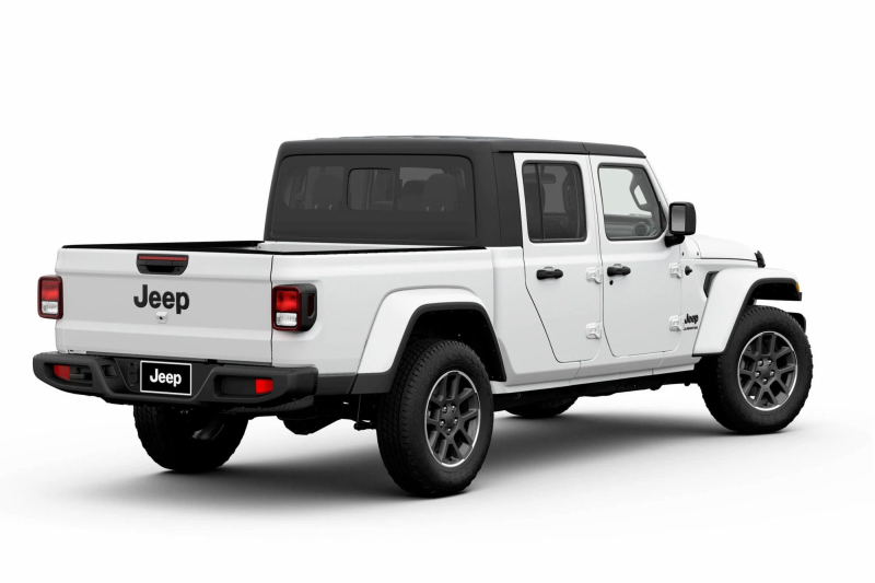 2020 Jeep Gladiator Altitude Rear Profile