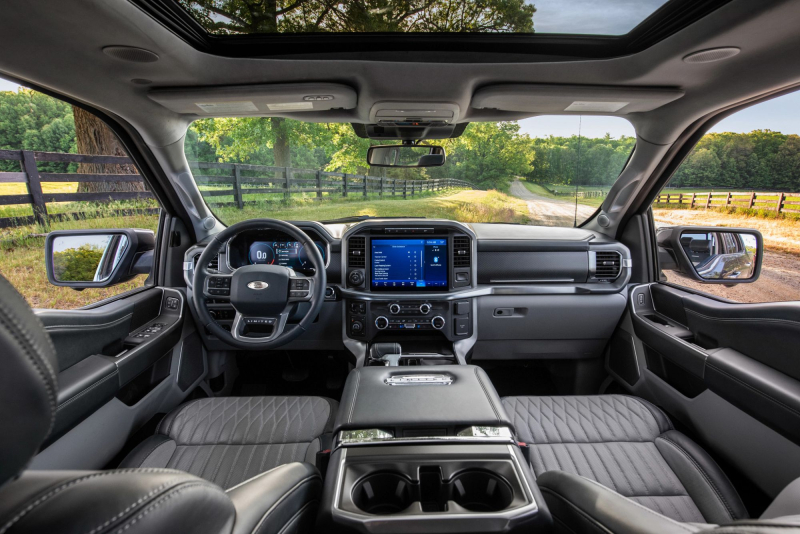 2021 Ford F-150 Front Seats, Dashboard And Center Console