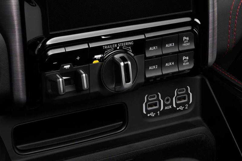 2021 Ram 1500 TRX Trailer Steering Dial