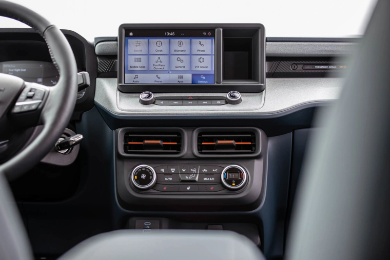 2022 Ford Maverick Multimedia Screen