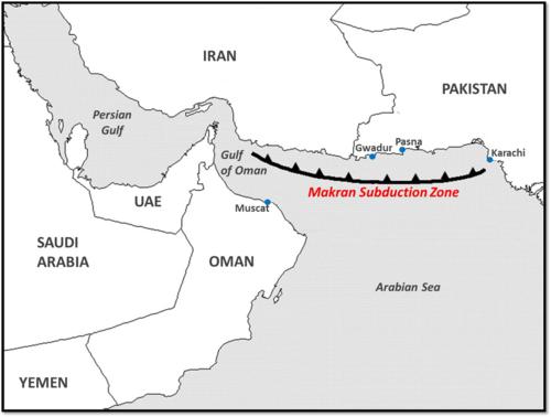 Makran map