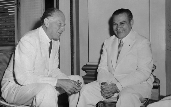 Batista y embajador