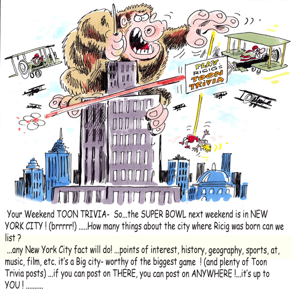 Ricig's Toon Trivia by Michael Ricigliano