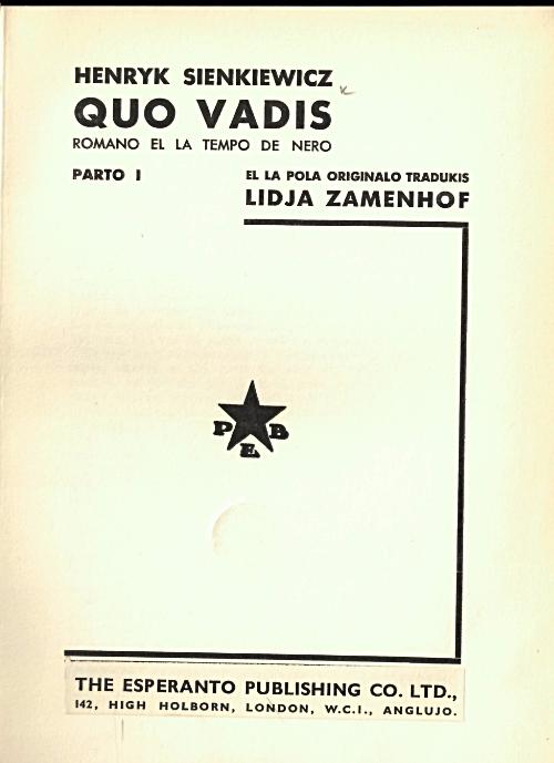 LidiaZamenhofQuoVadis
