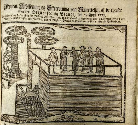 Struensee's execution