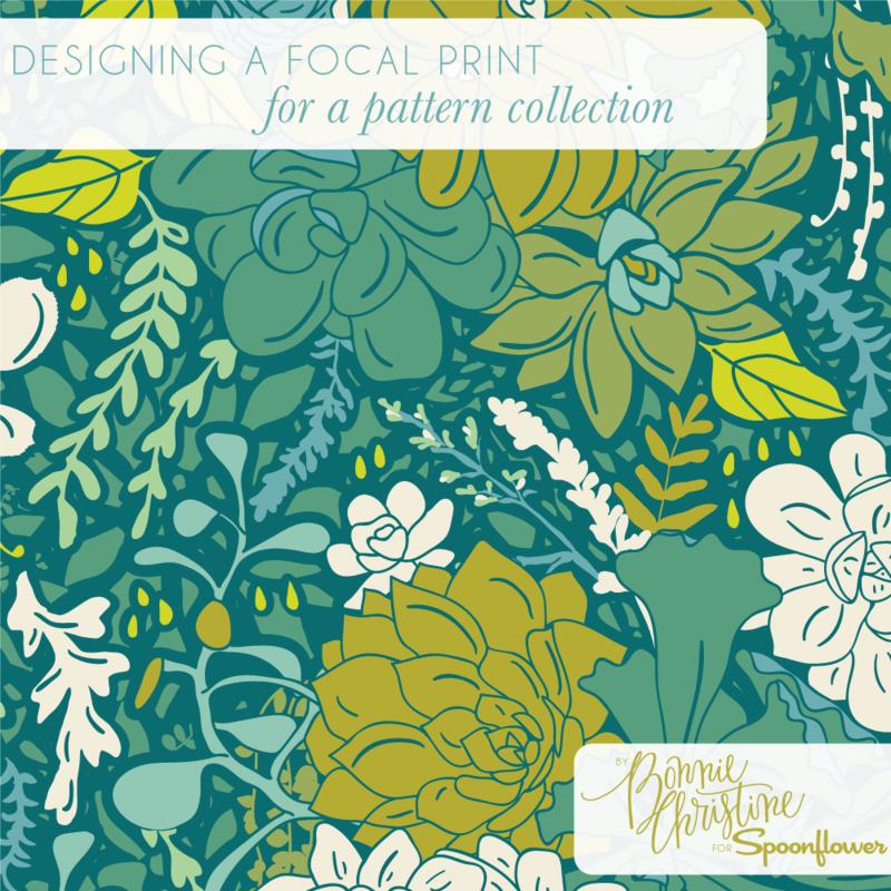 Designing a focal print