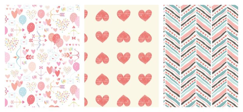 Heart fabric