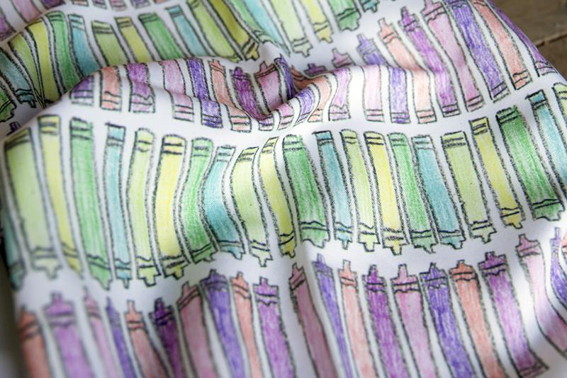 Crayon fabric