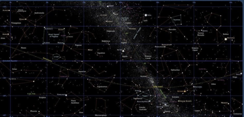 Star map © 2000-2005 Kym Thalassoudis. All rights reserved.