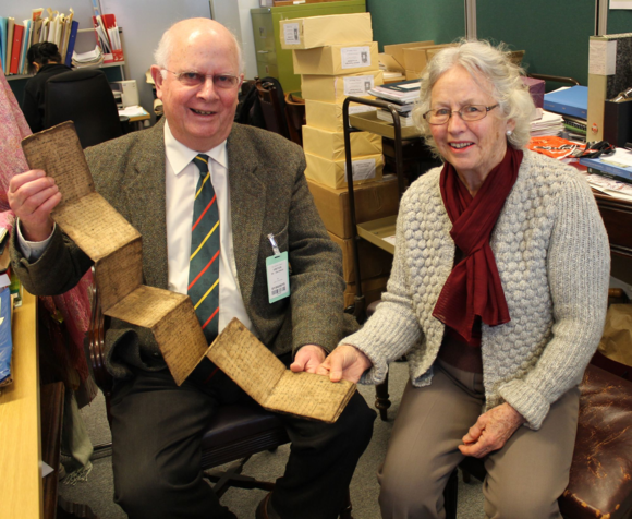 The Lampung manuscript (Or. 16936) donated to the British Library by Chris and Zissa Davidson, 1 April 2015