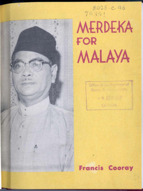 Merdeka for Malaya