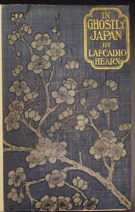 In Ghostly Japan is a collection of 14 mysterious Japanese short stories. Story No 6  is  'A Passion of Karma'. Lafcadio Hearn, In Ghostly Japan. London: Sampson Low, Marston and Co, 1899. British Library, 08631.F.6