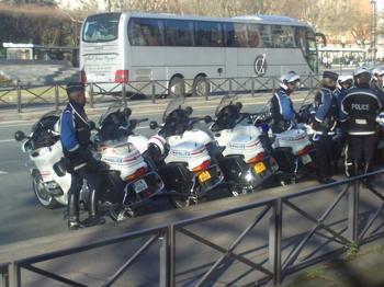 P - Arrivée bus porte d'Orléans