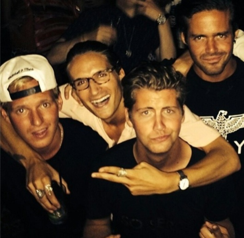 Jamie, Proudlock, Stevie, and Me