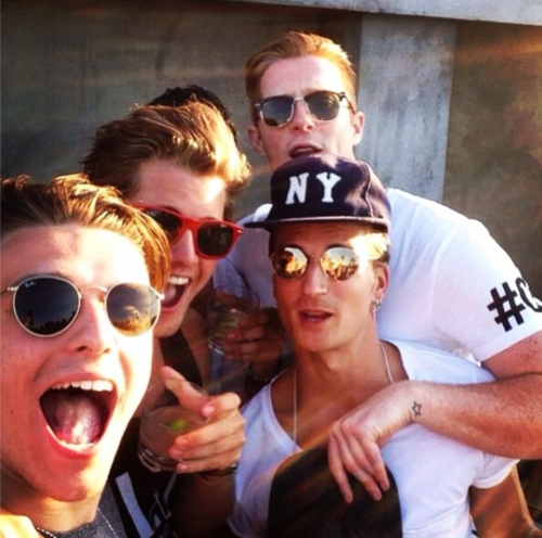 Proudlock, Stevie and friends at Output
