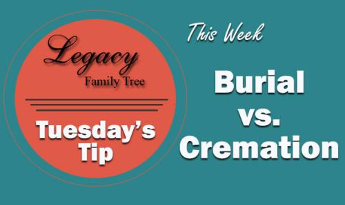 TT - Burial vs Cremation