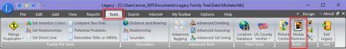 Tools > Media Relinker