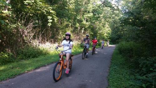 Pedego Bikes on the Little Miami Bike Trail