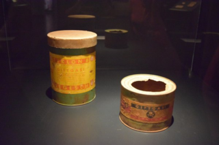 Zyklon B canisters from Auschwitz