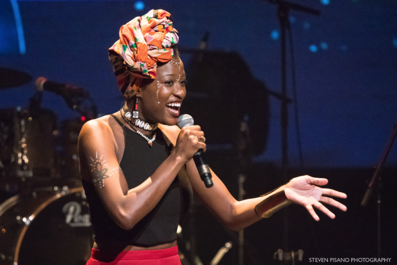 Mwenso & the Shakes at Africa Now! at the Apollo Theater