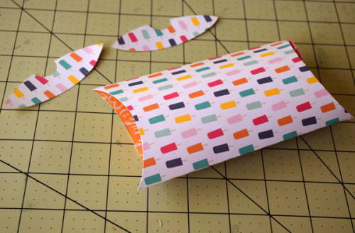 """Pillow Box Trio by Tya Smith with the """"Summer Dreams"""" collection by #EchoParkPaper"""