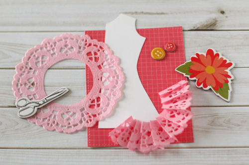 """Creative card by Anya Lunchenko featuring the """"I'd Rather be Crafting"""" collection by #EchoParkPaper"""