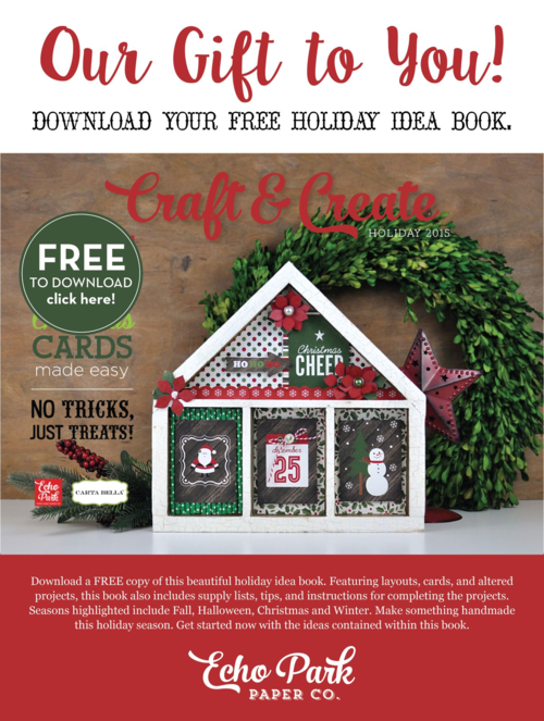 Holiday Craft and Create Idea Book