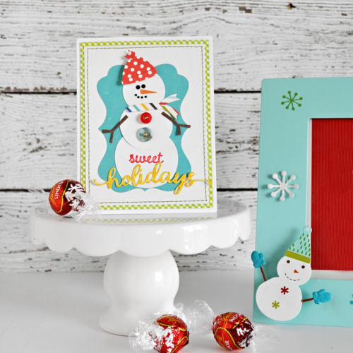 Sweet Holidays Card by Wendy Sue Anderson for #EchoParkPaper