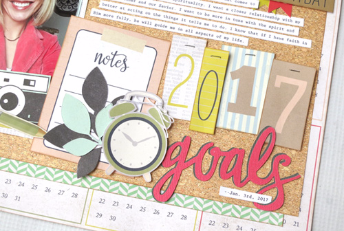 "Document your goals like Jana Eubank with our ""Everyday Memories"" Mini Theme Collection!"
