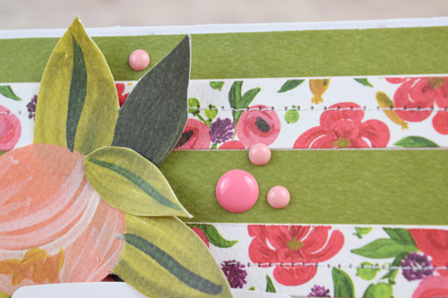 """Follow Your Heart, a card by Becki Adams with the """"Flora No. 1"""" collection by #CartaBellaPaper"""