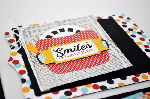 "Disney themed mini album by @wendysuea with the ""Magic and Wonder"" collection and Silhoeutte shapes by #EchoParkPaper"