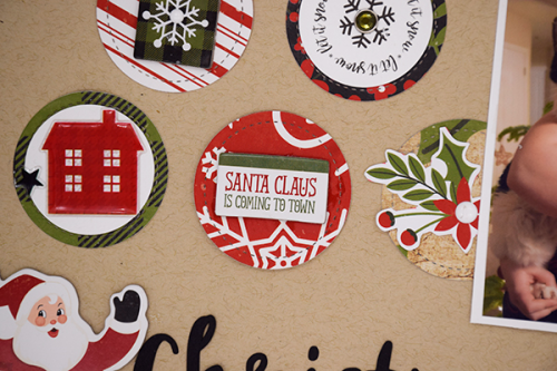 """Christmas Eve Layout by Tya Smith with the """"A Perfect Christmas"""" Collection by #EchoParkPaper"""