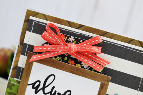 """""""Kind"""" Card by Becki Adams featuring the """"Welcome Home"""" collection by #CartaBellaPaper"""