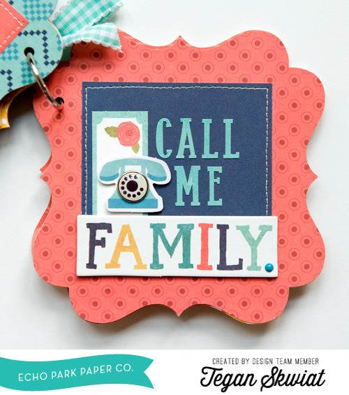 """Family is Forever - Mini Album by Tegan Skwiat featuring the """"The Story of Our Family"""" collection by #EchoParkPaper"""