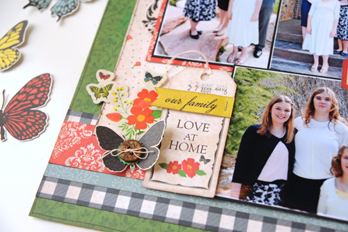 Growing Up Together Layout by Jana Eubank with the Our Family Collection by #CartaBellaPaper