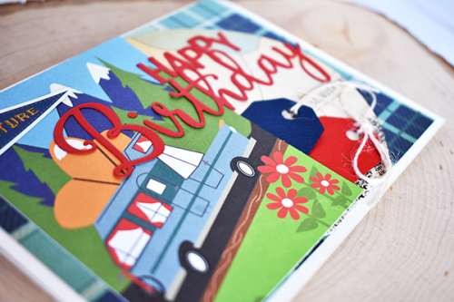 Gone Camping Birthday Card Duo Echo Park Paper