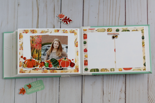 "Fall Mini Album by Anya Lunchenko featuring the ""Fall Break"" Collection by #CartaBellaPaper"