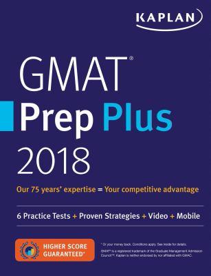 GMAT prep plus 2018.